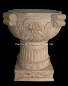 Marble Carving Flower Pot (VS350) pictures & photos