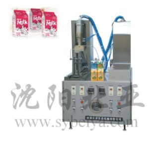 Cream Carton Bottom and Top Sealing Machine pictures & photos