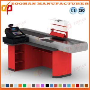 Retail Store Supermarket Shop Cash Counter Checkout Counter Equipment (Zhc7) pictures & photos