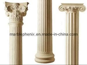 Marble Carving Pillar Stone Column pictures & photos