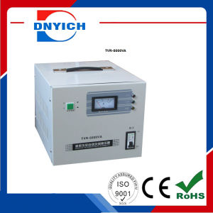 Voltage Stabilizer AC Voltage Regulator AVR Current Regulator Stabilizer 5000W pictures & photos