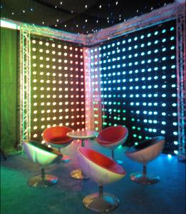 Milky White 5PCS Per Meter SMD5050 RGB Pixel LED Ball Light DMX, Madrix Control