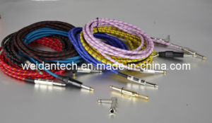 "3meter 1/4"" Mono to 1/4 Mono Guitar Cable pictures & photos"