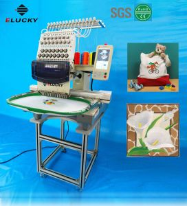 Commercial Computer Single Head Cap/Hat/Tshirt/Flat Embroidery Machine for Sewig/Embroider Designs