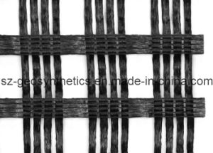 Warp Knitted Polyester Geogrid 120/120 Kn/M (PET 120/120 (GPA120X120))