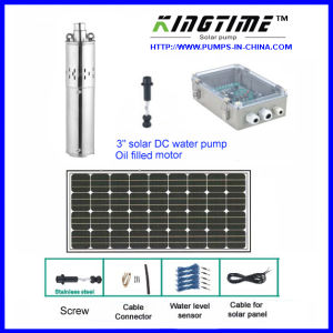 Solar DC Water Pump Kits, Solar Submersible Pumping System pictures & photos