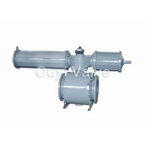 Pnematic Forged Ball Valve