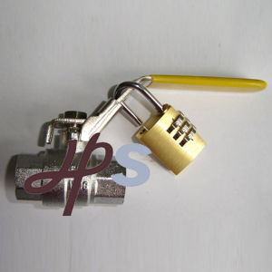 Brass Ball Valve With Padlock pictures & photos