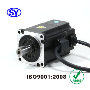 200W AC Servo Electrical Motor for CNC, Induction (60SV200AA30A) pictures & photos