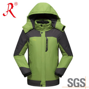 Fashion Design Men′s Outdoor Snow Ski Apparel (QF-6171) pictures & photos