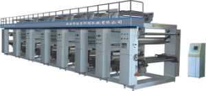 Middle Speed Rotogravure Printing Machine