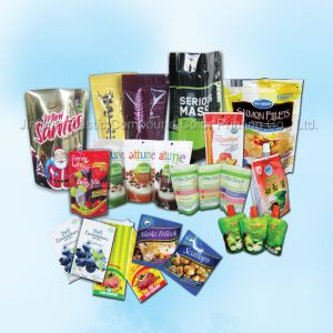 Custom Design Food Packaging Plastic Bag pictures & photos