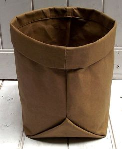 Brown Washable Kraft Bag Pot Plant Grocery Washable Paper Bag pictures & photos