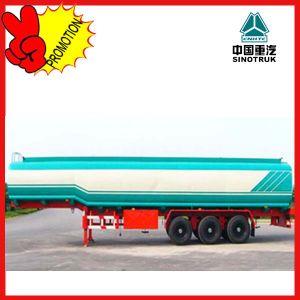 Low Price Sale Sinotruk 60cbm Oil Tank Trailer Truck