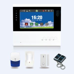 868MHz LCD GSM Alarm System with Rechargeable Li Battery Accessories pictures & photos