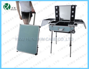 Make up Case with Lights Trolley Makeup Case with Lights pictures & photos