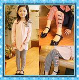 Children Clothes Stripe T-Shirt Suits (HZ003)