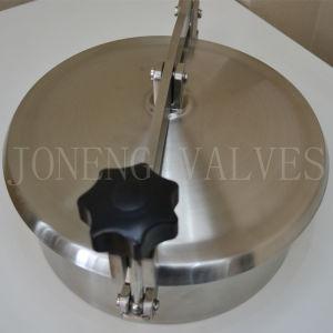 Sanitary Non-Pressure Round Manhole Vessel Manway Food Grade Mandoor pictures & photos