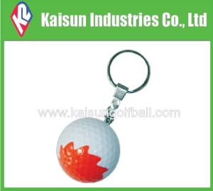Golf Ball with Key Chain/Gift Golf Ball