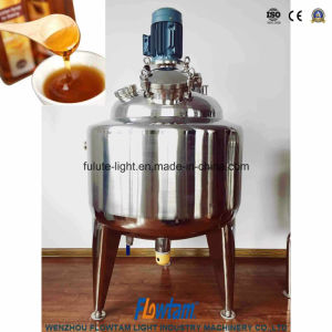 Stainless Steel Vertical Cooling and Heating Mixing Tank Fermentation Container pictures & photos