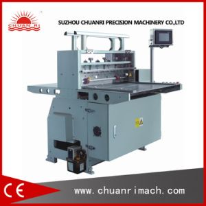 Automatic Best Price Plastic Film, Foam Tape, Label Paper Roll to Sheet Cutting Machine pictures & photos