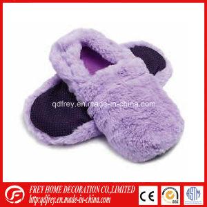 Fluffy Lavender Wheat Bag Heated Slipper Hot Sox