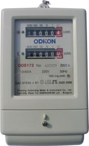 Single-Phase Electronic Multi-Rate Watt-Hour Meter (DDSF855)