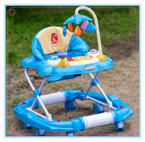 Wholesale 8 Wheels Baby Walker with Push Bar pictures & photos