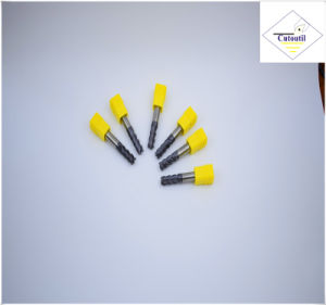 Cutoutil HRC45 Tialn Coating D1*3*D4*50 2f/4f for Steel CNC Machining Part Solid Carbide End Mills Tools pictures & photos