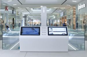 Public Furniture Acrylic Solid Surface LED display Unit pictures & photos