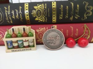 Wholesale Round Two Dimension Code′s Soft Enamel Bespoke Medal pictures & photos