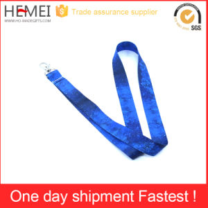 Jewelry Polyester Lanyard with Custom Logo Print pictures & photos