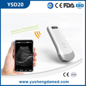 Ce Certified Medical Equipment Diagnostic Machine Wireless Ultrasound Probe pictures & photos
