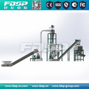 Wood Pellet Processing Plant Wood Pellet Manufacturing Plant pictures & photos