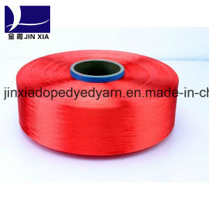 FDY 120d/72f Dope Dyed Polyester Yarn pictures & photos