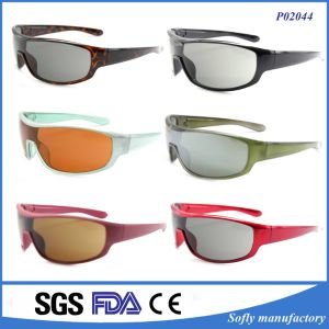 2017 Cycling Glasses Custom Logo Sports Sunglasses with Tac Polarized pictures & photos