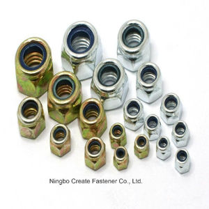 Nylon Nuts for DIN985/982/ Unc Nylon Nuts pictures & photos