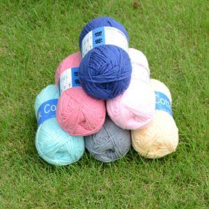 Hot Sale DIY Milk Cotton Yarn pictures & photos