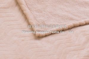 Embossed Flannel Fleece Blanket - Wave pictures & photos