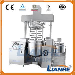Electric Heating Cosmetic Vacuum Homogenizer Mixer pictures & photos