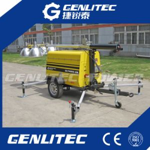 Genlitecpower High Quality 5kw Diesel Mobile Light Tower pictures & photos