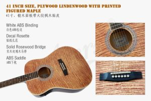Aiersi High Quality Student Electrical Acoustic Guitar Sg028ae pictures & photos