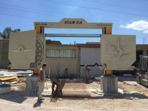 Diamond Wire Saw Edge Stone Cutting Machine for Marble &Granite pictures & photos