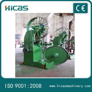 Vertical Wood Cutting Band Saw Machine with Log Carriage/ Band Saw Machine for Cutting Tree Trunk pictures & photos