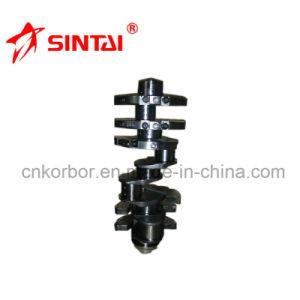 Casting Steel Crankshaft for Mercedes Benz Om442 4420304301/4420303701 pictures & photos