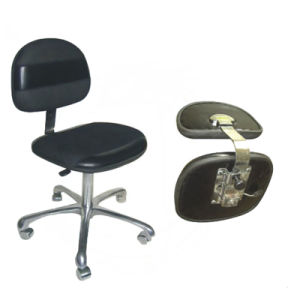 Cleanroom ESD Antistatic Chair with Conductive Castors pictures & photos