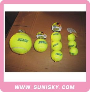 Dog Toy Rubber Tennis Ball for Traning Dog pictures & photos