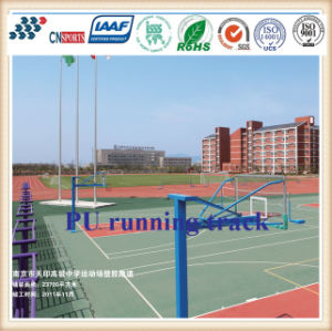 China Supply Hot-Selling Buffer Base Mixed Rubber Running Track pictures & photos
