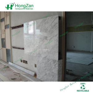Marble Coated Aluminum Honeycomb Panel for Interior Wall pictures & photos
