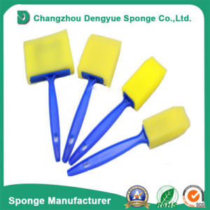 Colorful PU Dish Cleaning Brush Foam Sponge pictures & photos